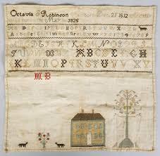 Octavia Robinson Sampler | Cottone Auctions