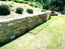 terraced landscape patio retaining wall