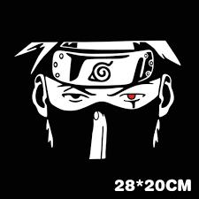 Kakashi Naruto Car Window Decal Sticker The Fullmetal