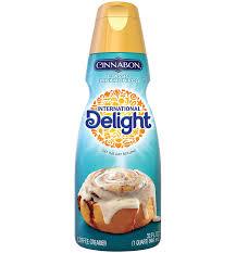 cinnabon non dairy coffee creamer