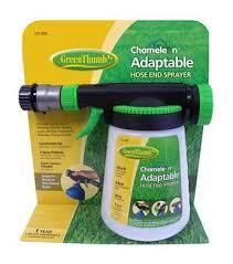 green thumb chameleon hose end sprayer