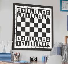 Chessboard Board Game Sticker Tenstickers