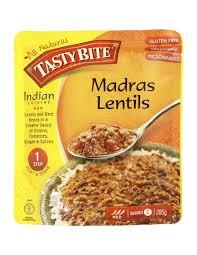 tasty bite madras lentils 285g ally s