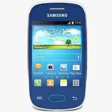 Samsung Galaxy Pocket Neo S5310 Blue 3D ...