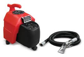 heated hot water carpet extractor