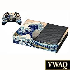 Xbox One Skin Decal The Great Wave Of Kanagawa Skin For Xbox Etsy