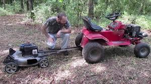 diy trail mower you