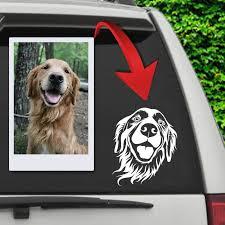 Custom Pet Car Decal Furbabyprints Com