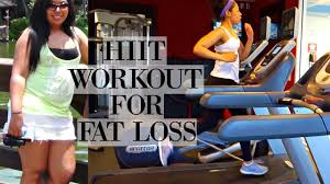 hiit treadmill workout for fat loss