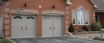 walkthru garage doors