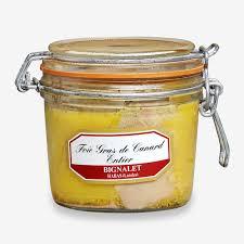 foie gras de canard conserves