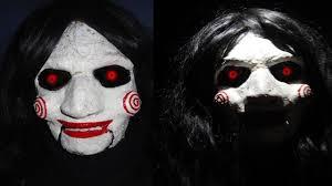 billy jigsaw saw makeup tutorial