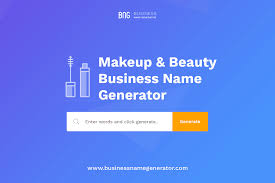 makeup beauty business name generator