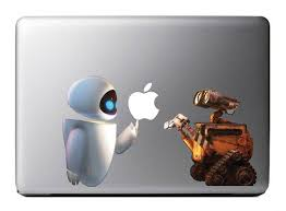 Wall E Eva Macbook Decal Apple Mac Book Ipad By Macbookdecalzone 9 99 Macbook Decal Macbook Accessories Apple Macbook