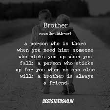 best captions for brothers brothers quotes status images
