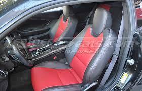 chevrolet camaro leather interiors