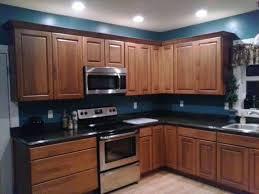 teal kitchen walls