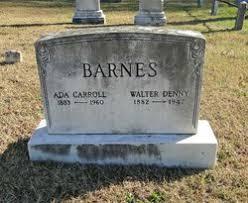 Ada Carroll Barnes (1883-1960) - Find A Grave Memorial