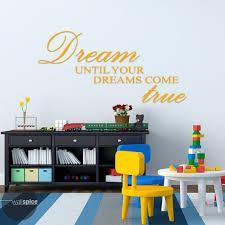 Dream Until Your Dreams Come True Vinyl Wall Decal Sticker Etsy Vinyl Wall Decals Nursery Wall Decal Sticker Vinyl Wall Decals