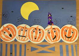 Five Little Pumpkins Halloween Craft Go Wander Bee Happy