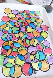 easy craft ideas for kids stained