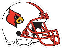 3 Louisville Cardinals Helmet Vinyl Decal Wesellspirit Com