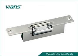 glass door electric strike lock fail
