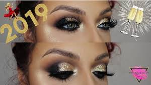 new years eve 2019 makeup tutorial
