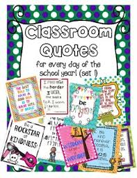 classroom quotes posters for every day of the year tpt