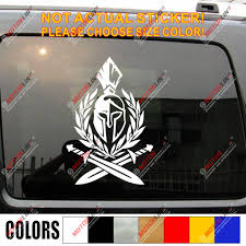 Sparta Molon Labe Spartan Sword Coat Of Arms Decal Sticker Car Vinyl Pick Size Car Stickers Aliexpress