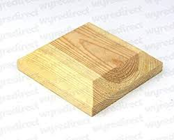 Wooden Post Top To Suit 3 75mm Fence Post Cap Decking Untreated Actual Size 90mm Amazon Co Uk Diy Tools