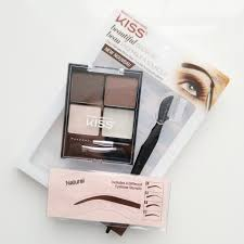 kiss beautiful brow kit review