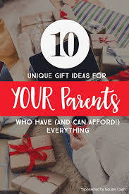 10 unique gift ideas for your pas