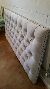 king sized headboard tufted upholstered