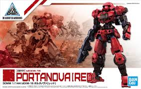 1/144 bEXM-15 Portanova (Red) | Gunpla Wiki