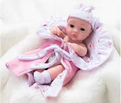 cute baby dolls soft silicone skin care