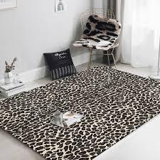 leopard print carpet living room modern