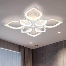 Đèn trần - đèn ốp trần - đèn led trang trí phòng khách hoa mai 8 cánh 3 màu  ánh sáng có điều khiển từ xa VERSION LAMP