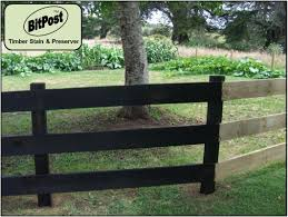 20 Liter Bitpost Black Fence Stain And Preserver