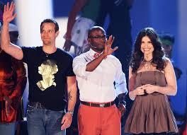 Taye Diggs, Idina Menzel, Adam Pascal - Taye Diggs and Adam Pascal Photos -  The 62nd Annual Tony Awards - Show - Zimbio