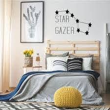 Amazon Com Big Dipper Vinyl Wall Decal For Kids Rooms Or Baby Nurseries Star Gazer Lettering Design For Boy S Or Girl S Bedroom Or Playroom Handmade