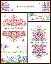 Las Plantillas Para Invitaciones De Cumpleanos Ilustraciones