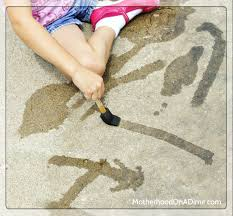Crafts: 7 fun ideas for painting outside - Today's Parent