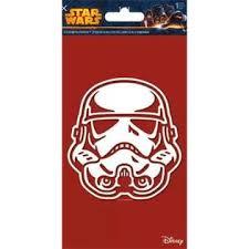 Trends Star Wars Storm Trooper Window Decal Sticker Brand New Disney Car 7661