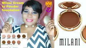 cream to powder makeup reviews