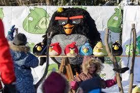 Angry Birds Go Snow
