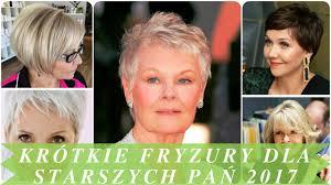 Krotkie Fryzury Dla Starszych Pan 2017 By Kanal Mody