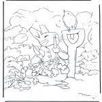 Kleurplaat Peter Rabbit Allerlei Kleurplaten