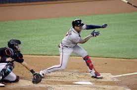Monte Harrison hits 1st MLB home run, Marlins drop pitchers' duel to  Atlanta – KDXU 94.9 890