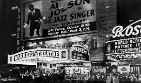 Warner Theatre, New York Film: The Jazz Singer (USA 1927) Director ...